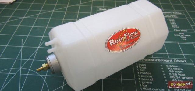 RotoFlow yakıt tankı