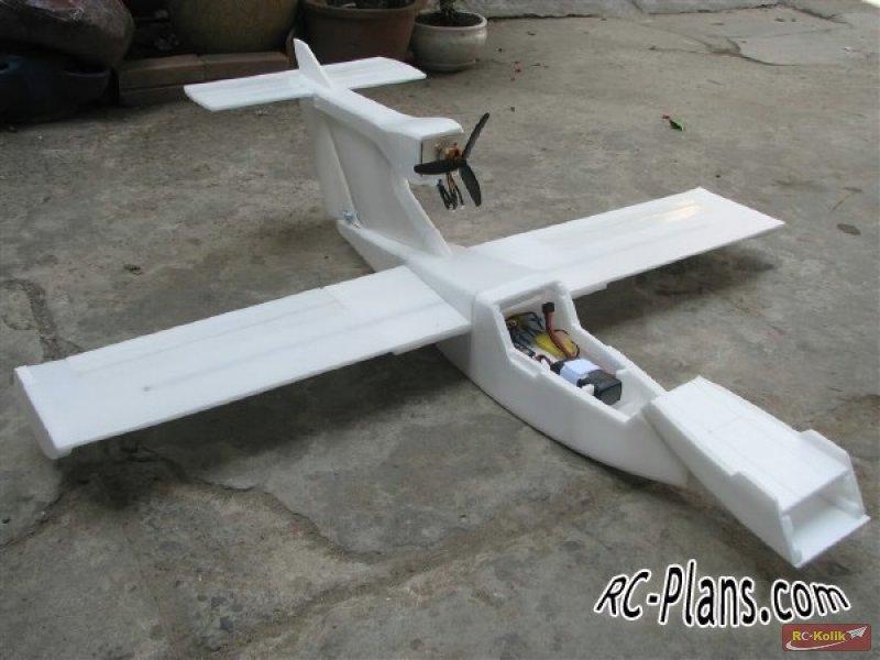 Epp Foam vb. malzemeler için uçak planları