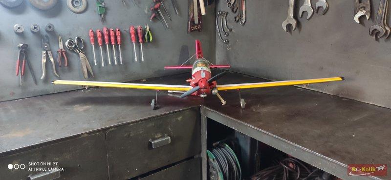 İlk balsa ve nitro uçağım ve uçuş videoları